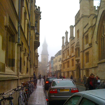 Oxford in a Day ~ Things to do! Turl Street