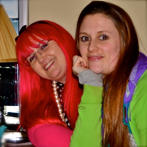 Encounters with Sparkly People: Georgina and Shannon