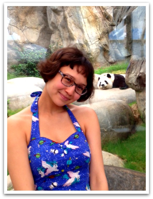 Simple Fix: Match your Dress with your Panda