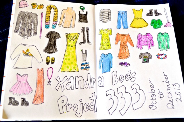 My Project 333 List