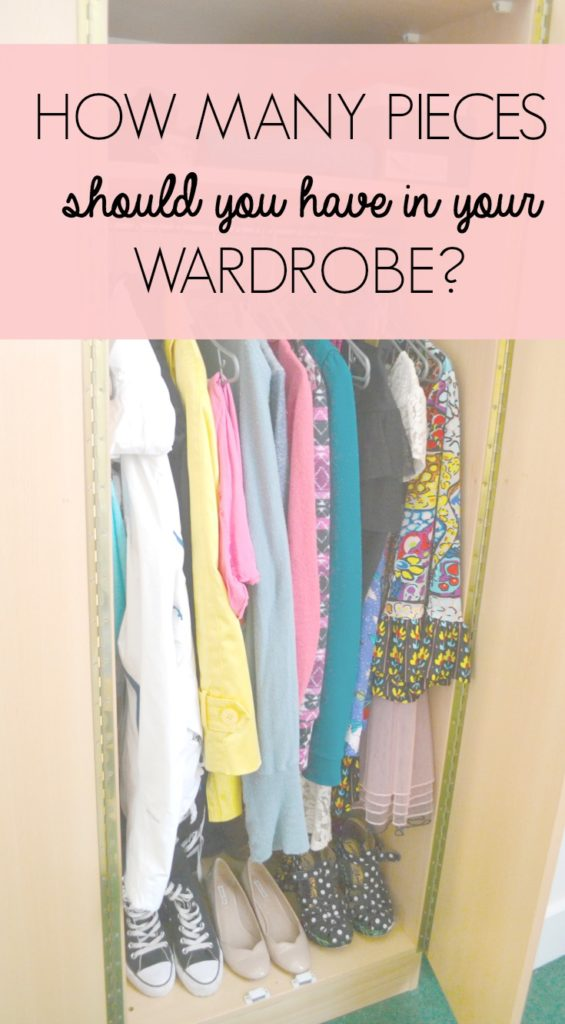 How Many Pieces Should You Have In Your Wardrobe