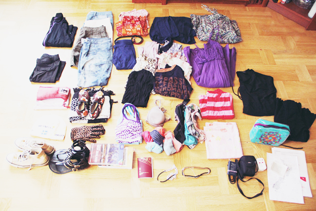 What She Packed: Amanda Backpacks in NZ and Southeast Asia