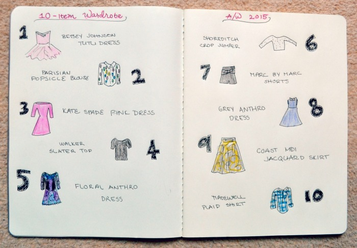 10-Item Wardrobe Autumn/Winter 2015