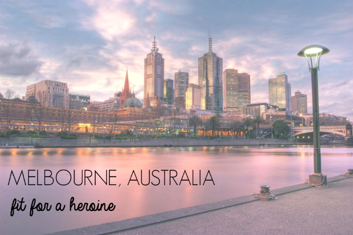 Melbourne, Australia / Fit for a Heroine