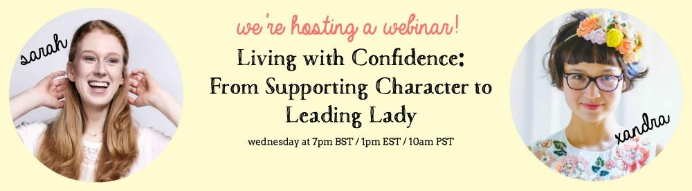 Webinar this Wednesday!