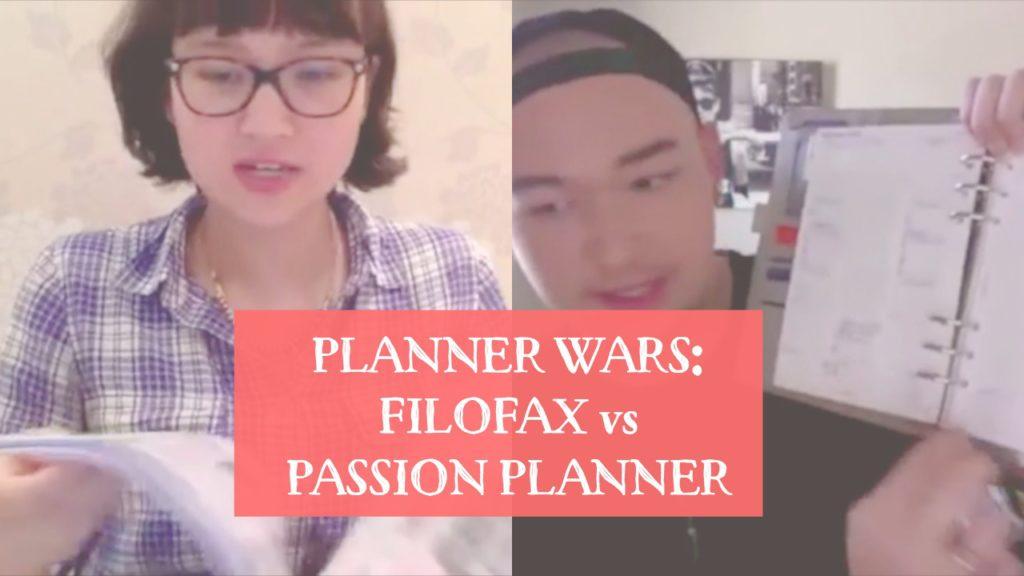 Planner Wars: Filofax vs Passion Planner