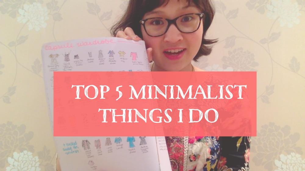 Am i still a minimalist heroine training for Minimalist stuff