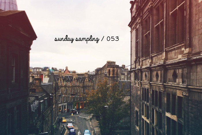 Sunday Sampling / 053