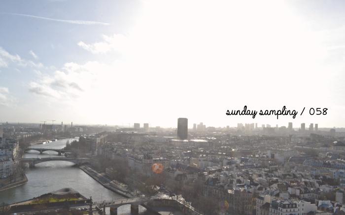 Sunday Sampling / 058