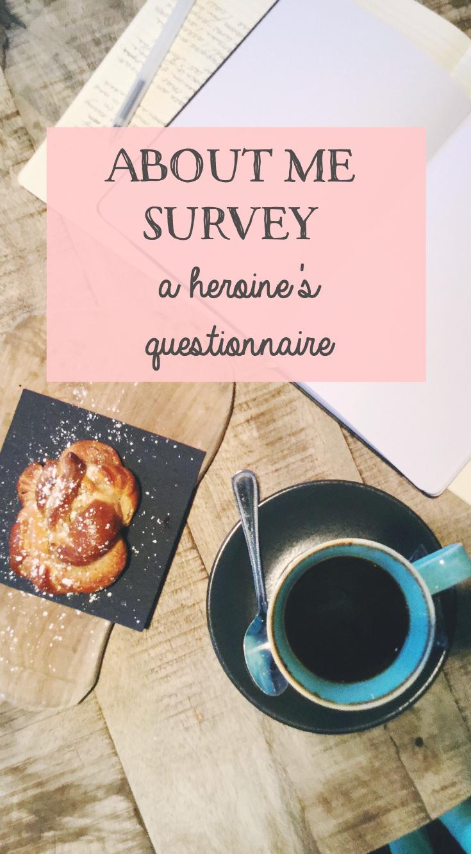 A Heroine's Questionnaire / 002