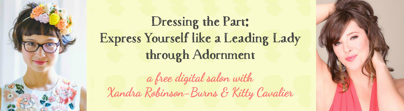 Dressing the Part: A Free Webinar with Kitty Cavalier