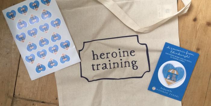Heroine Training Tea Party at Lovecrumbs, a Tea-cap