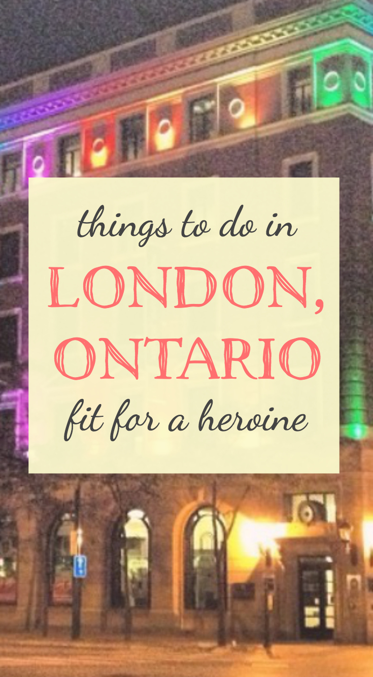 London, Ontario, Canada / Fit for a Heroine
