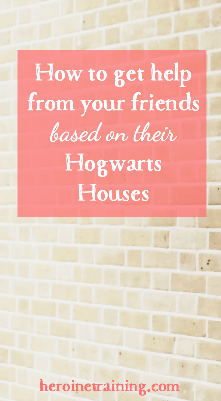 How Your Friends Can Help You, Based on Their Hogwarts Houses