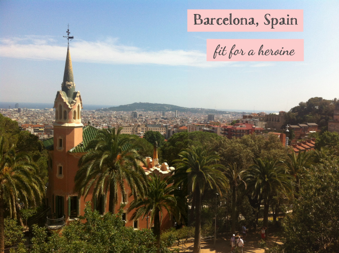 Barcelona, Spain / Fit for a Heroine
