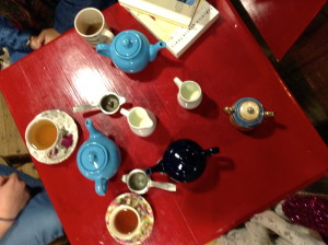 on tea, friends, and good books