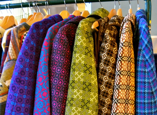 ^ gorgeous capes at vintage stall Dawoosh