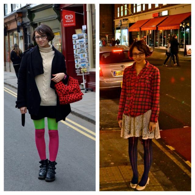 This Week in My Minimalist Wardrobe ~ Legwear Layering