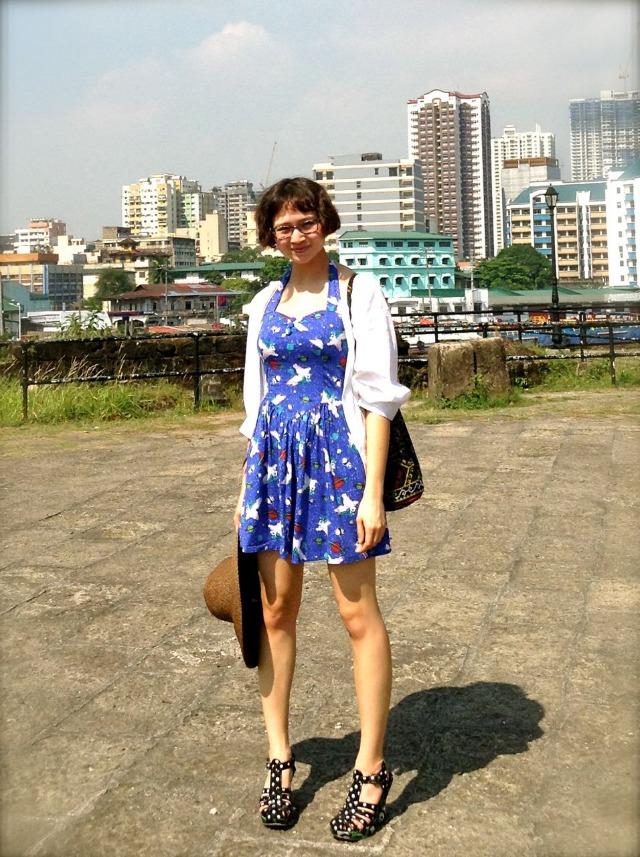 Outfit ~ Sunshine, Unicorns, and Manila
