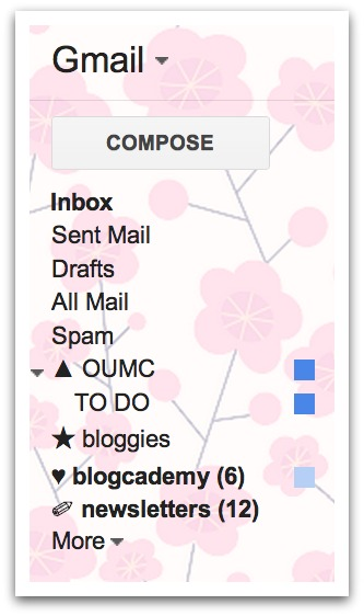Simple Fix Friday: Pimp Your Gmail Folders