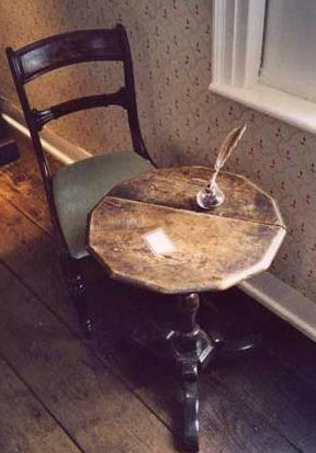 Minspiration Monday: Jane Austen's Writing Table
