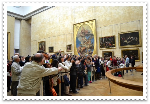 Postcard From → The Mona Lisa