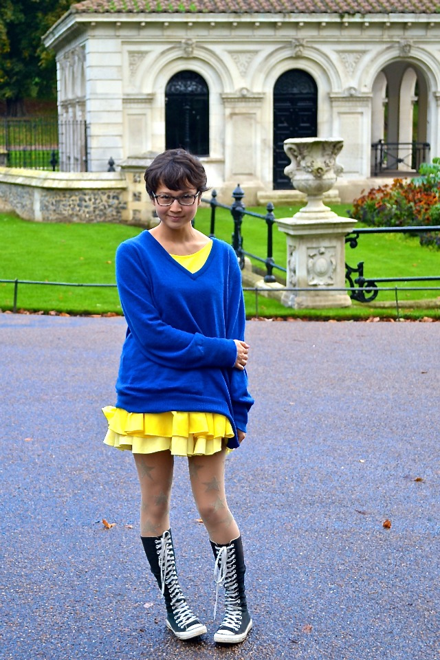 Wardrobe Weekly: Yellow, Blue, and PunchDrunk Too