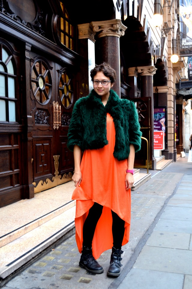 What I Wore: the Opera and the Other Place