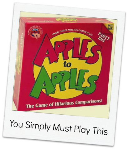 You Simply Must: Play Apples to Apples