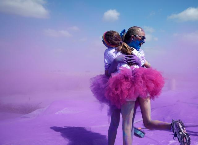 running-pink-tutu