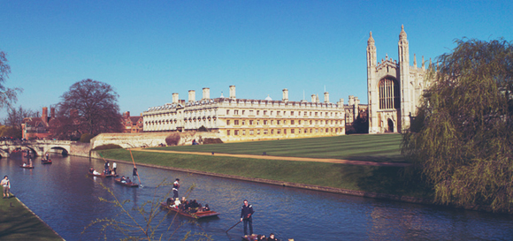 Cambridge, England / Fit for a Heroine
