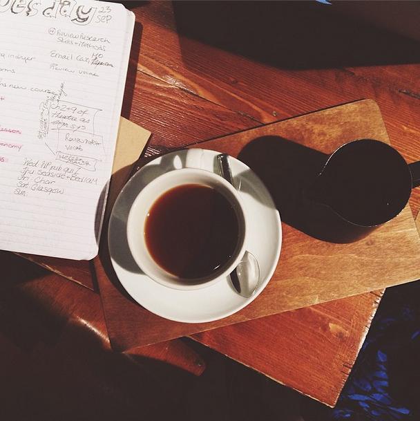 Mini Adventure: Café Crawling
