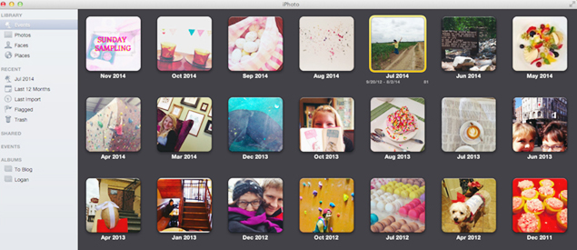 Simple iPhoto Makeover