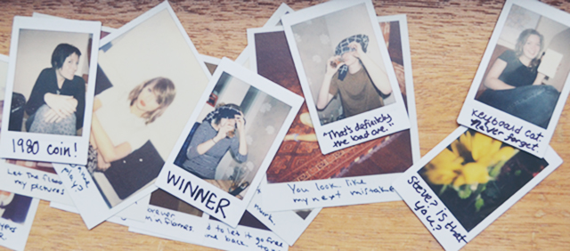 How to Polaroid Like Taylor Swift