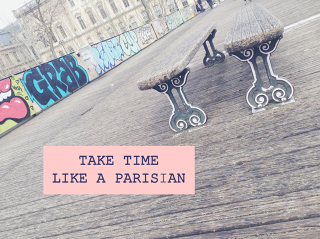 Take Time Like a Parisian