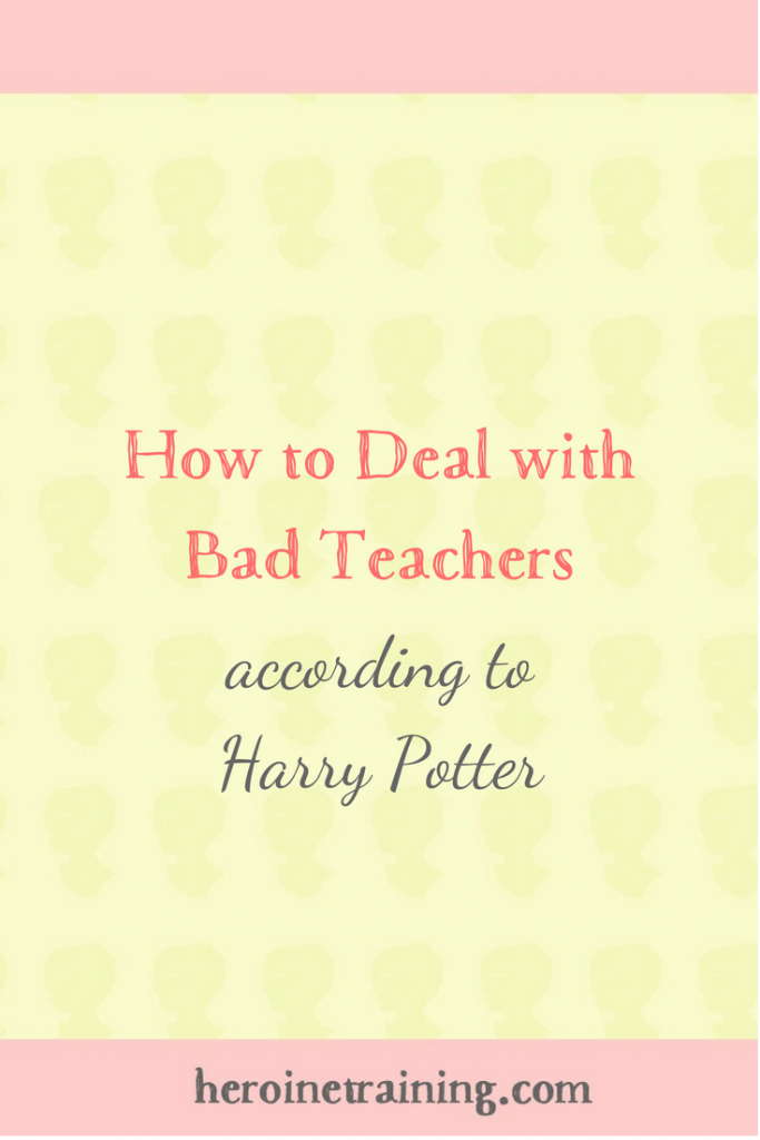 How to Deal With Bad Teachers, According to Harry Potter