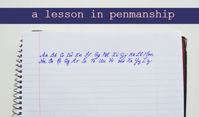 Steal Hermione's Handwriting: A Lesson in Penmanship