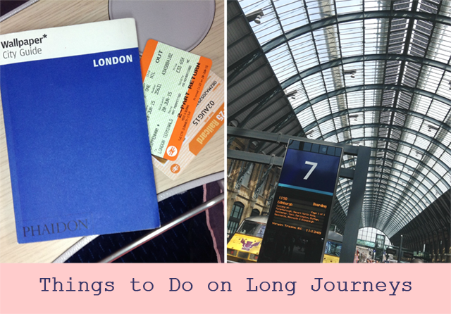 Heroine Training on a Train: Things to Do on Long Journeys