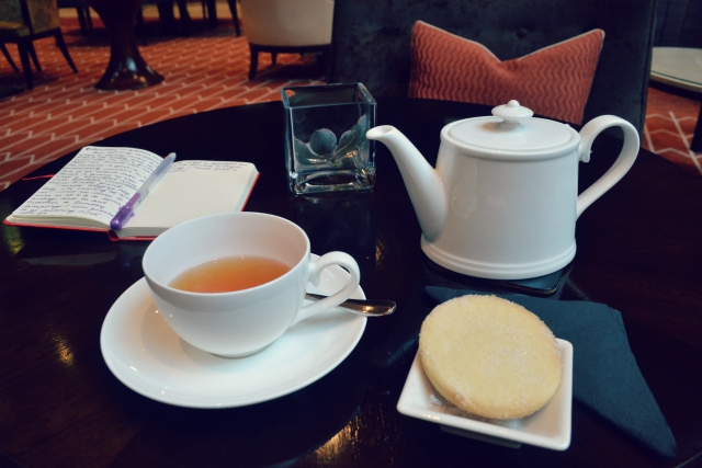 Tea for One at the Caledonian