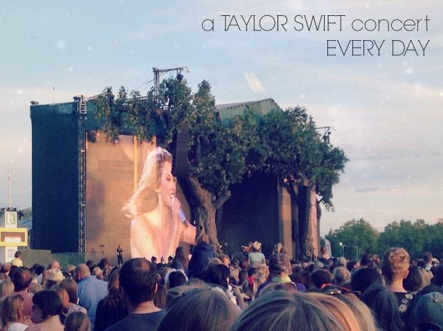 a Taylor Swift Concert Every Day