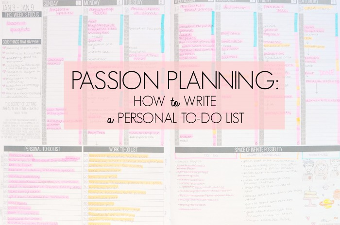 passion-planner-personal-to-do-list-ideas