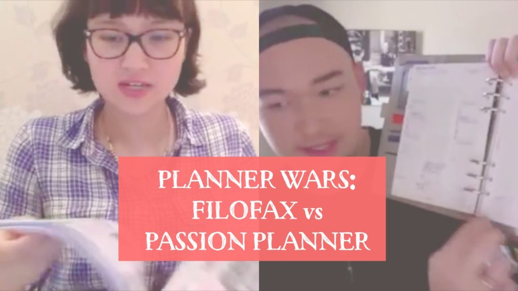 Planner Wars: Filofax vs Passion Planner