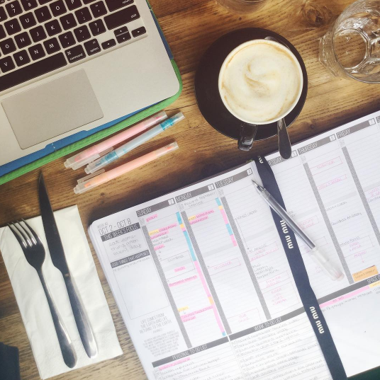 How to Have a Date with Your Planner