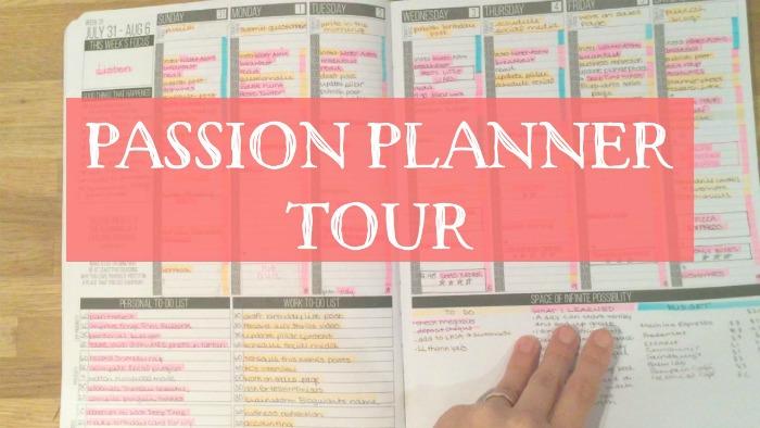 Passion Planner Tour