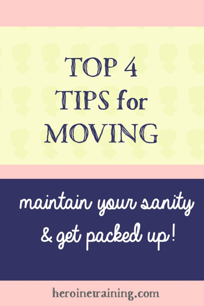 Top 4 Moving Tips