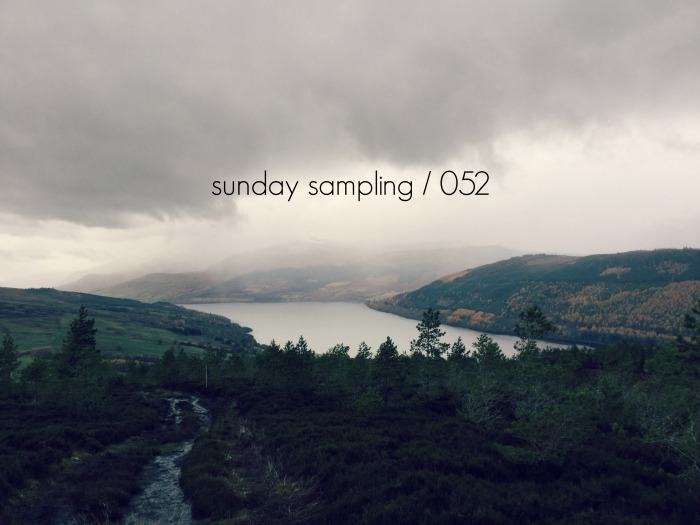 Sunday Sampling / 052