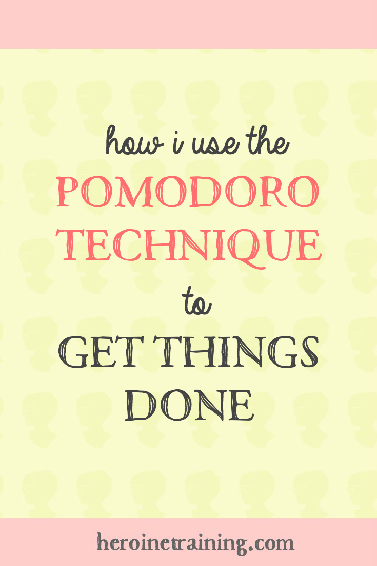 How I Use the Pomodoro Technique to Get Things Done