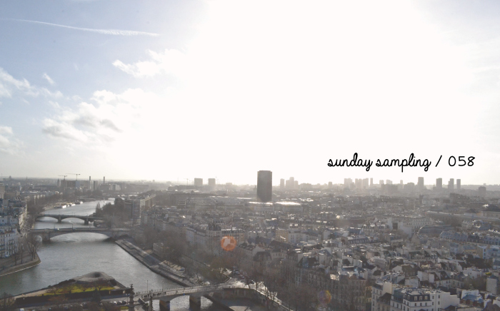Sunday Sampling / 058