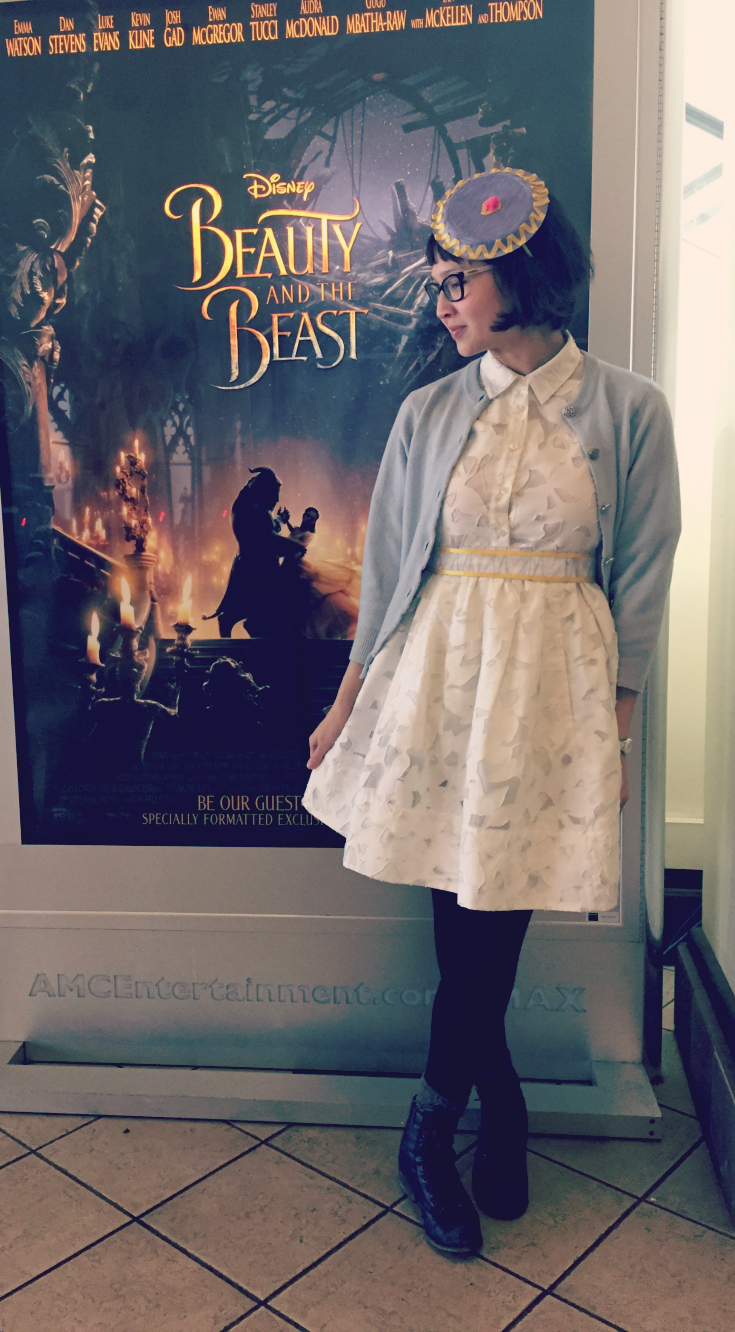 Beauty and the Beast Review & Mrs Potts Outfit