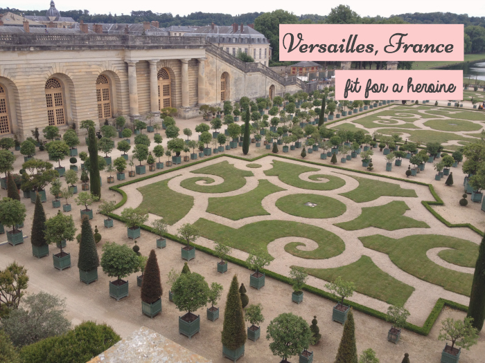 Versailles, France / Fit for a Heroine
